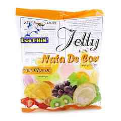 Captain Dolphin Fruit Flavour Jelly With Nata De Coco