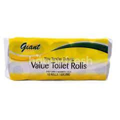 Giant Value Toilet Rolls (10 Rolls)