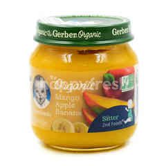 Gerber Organic Mango Apple Banana Baby Food