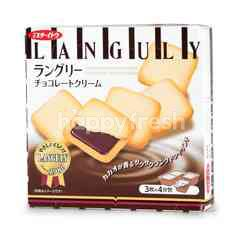 Mr.Ito Kukis Chocolate Cream Sandwich Biscuit (4 Packs)