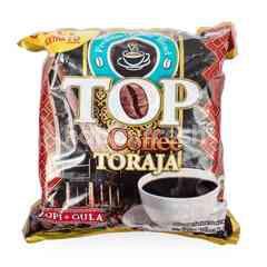TOP Coffee Kopi Toraja Bubuk dengan Gula (30 sachet)