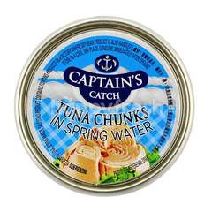 Captain's Catch Tuna Chunks In Spring Water