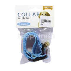Dog Collar With Bell (L)