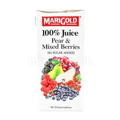 Marigold Pear & Mixed Berries Juice