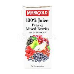 Marigold Pear & Mixed Berries Juice