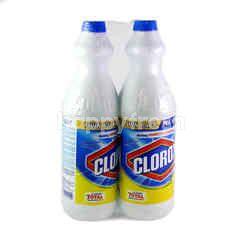 Clorox Twin Pack Bleach Lemon