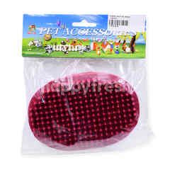 PERCELL Pet Accessories - Rubber Bathing Brush