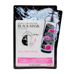 Double & Zero Double Care Solution Black Mask