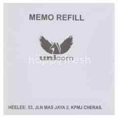 Unicorn Memo Refill