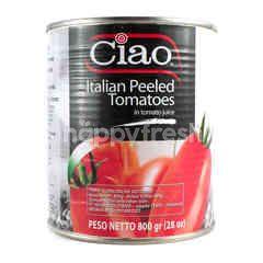 Ciao Potongan Tomat Kupas Itali