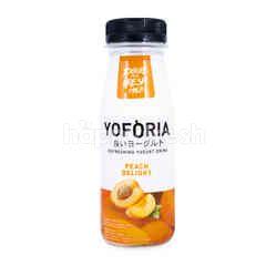 Yoforia Minuman Yogurt Rasa Buah Persik