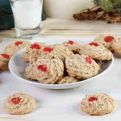 Christmas Hazelnut Cookies