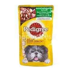 Pedigree Beef & Chicken Flavour In Gravy Dog Food