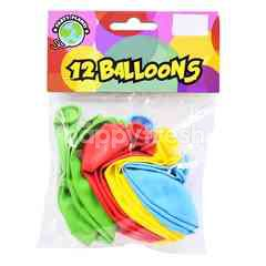 Party Planet Balloons (12 Pieces)