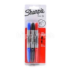 Sharpie Twin Tip Permanent Marker (3 Pieces)