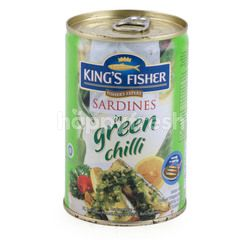 King's Fisher Green Chili Sardines