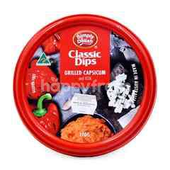 Simply Delish Chunky Dips Grilled Capsicum And Feta