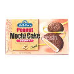 Well-Done Peanut Mochi Cake