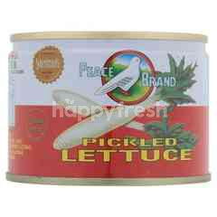 Peace Pickled Lettuce
