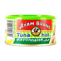 Ayam Brand Hot Tuna With Mayonaise