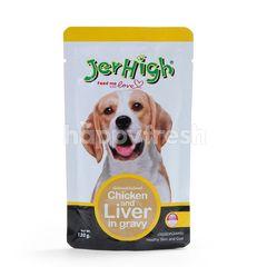 Jer High Chicken & Liver In Gravy