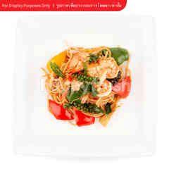 You Hunt We Cook Shrimp Khee-Mao Spaghetti