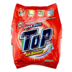 Top Super White Anti-Malodour Powder Detergent
