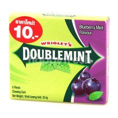 Wrigley's Doublemint Blueberry Mint Gum