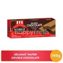 Selamat Wafer Lapis Dobel Cokelat