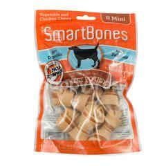 SmartBones Stik Kunyah Mini Sayuran dan Ayam Rasa Ubi 8's