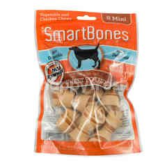 SmartBones Vegetable and Chicken Chews Mini Stick Sweet Potato 8's