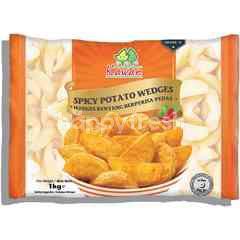 Kawan Spicy Potato Wedges