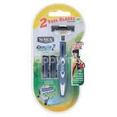 Schick Exacta 2 System Sensitive Razor For Men (3 Pieces)