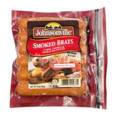 Johnsonville Smoked Brats Pork Sausage