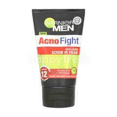 Garnier Men Acno Fight 6-In-1 Anti-Acne Foaming Cleanser