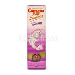 Curcuma Plus Food Supplements Contain Enriched Calcium Cod Liver Oil with Blackcurrant Flavor
