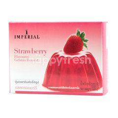 Imperial Gelatin Dessert Powder Strawberry Flavour