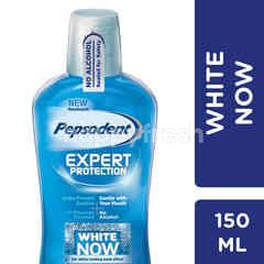 Pepsodent Expert Protection Mouthwash White Now