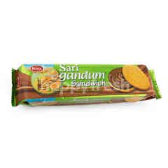 Roma Sari Gandum Milk & Chocolate Biscuit Sandwich