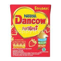 Dancow Fortigro Excelnutri Susu UHT Rasa Stroberi