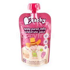 Peachy Baby Food Apple Puree Oats & Prune