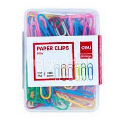 Deli Essential Paper Clips 0024 29mm