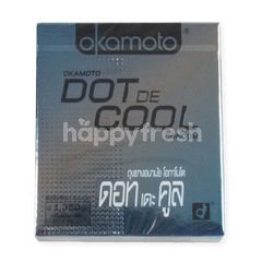 Okamoto Dot De Cool Condom Size 52 mm