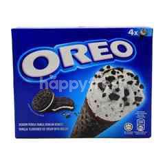 Oreo Vanilla Flavoured Ice Cream With Biscuit
