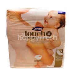 Drypers Touch Baby Diapers - M (64 Pieces)