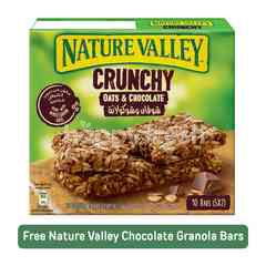 Nature Valley Crunchy Oats & Chocolate Granola Bars