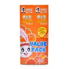 Darlie Bunny Kids Orange Flavoured Toothpaste (2 Pieces)