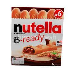 Ferrero Nutella B-Ready Hazelnut chocolate Flavour Waffle