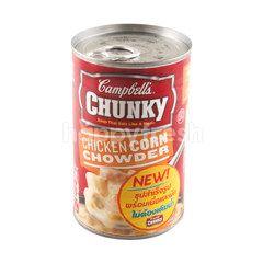แคมเบลส์ ชังกี้ ซุปสำเร็จรูป ผสมเนื้อไก่และข้าวโพด