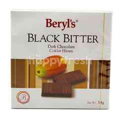 Beryl's Black Bitter Dark Chocolate